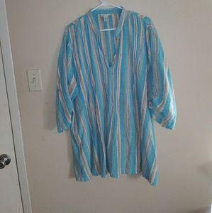 Soft Surroundings 1X blouse